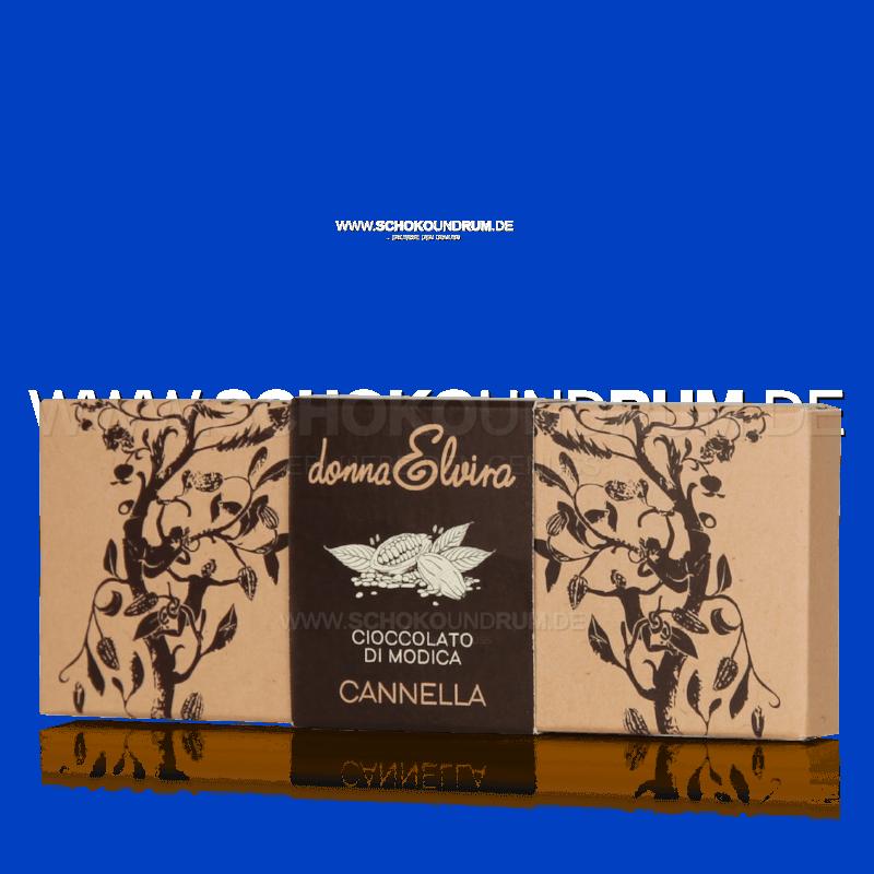 Donna Elvira Canella Rohschokolade mit Zimt