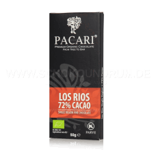 Pacari Los Rios Dunkle Schokolade 72%