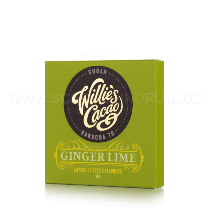 Willie's Cacao Ginger Lime MHD